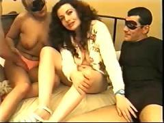 Amatoriale italia gessica rizzo marito cornuto guarda la moglie che viene sfondata il culo e figa
