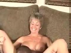 A hot mature wife gets a creampie from her black lover.eln
