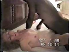Mature amateur nympho fucks 1st black cock - cuckold - hot
