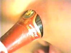 Champange bottle (anal)