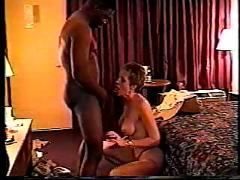 Awesome hot and big tittied tracy with a black man