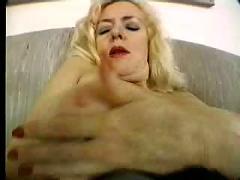 Blond milf solo
