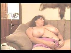 Bbw - princess masturbating