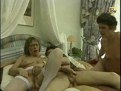 Two matures with a guy.flv