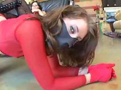 Lesbian oral ass slave