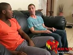 Jackson and jp interracial anal fuck