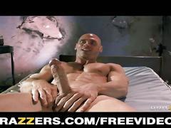 Busty blonde nurse fucks her paitent's hard cock