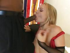 Extreme hardcore interracial sex.