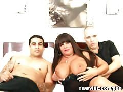 Vicious brunette milf gets fucked