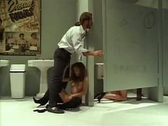 Francesca le & steve drake - toilet sex