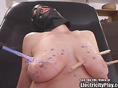 Bdsm slut pussy set on fire accidentally