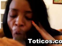 Toticos.com dominican porn black ebony teen pov blowjob ashlei 19yrs old sosua