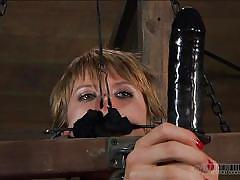 milf, bdsm, whipping, humiliation, dildo, brunette, chains, shackles, restraints, real time bondage, alani pi, alani pi, real time bondage, kinkster cash