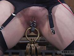 milf, bdsm, latex, torture, redhead, tied up, suffocation, clamps, executor, mouth gagged, real time, real time bondage, maggie mead, maggie mead, real time bondage, kinkster cash