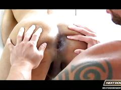Two hot studs loves fucking