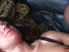 Sensuous brunette ass fingered and fucked