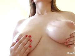 Babe with huge tits gets fucked