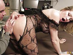 milf, fisting, blonde, round ass, dildo, moaning, big dick, from behind, anal insertion, anal sex, at work, torn pantyhose, big butts like it big, brazzers network, christian clay, vittoria risi