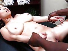 Asian milf drilled by a bbc