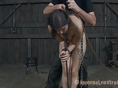 Breaking her piece by piece