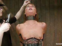 milf, bdsm, redhead, mistress, tied, stockings, vibrator, corset, tied up, collar, clamps, bondage device, restraints, device bondage, kink, cassandra nix, mz berlin, asa archer, cassandra nix, mz berlin