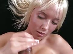 She wanking him - finishing the job + cumshot - 7th episode