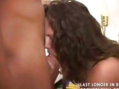 Wife fucks black dude as husband films it