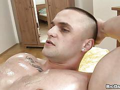 tattoo, massage, blowjob, oiled, gays, muscular, rub him, big daddy, franc zambo, robert xx, franc zambo, robert xx, rub him, haze cash