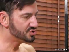 Timo garrett rides thick daddy cock
