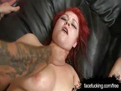 Chubby redhead loving her well hung boyfriend