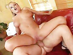 Jessica moore busty in threesome and double penetration
