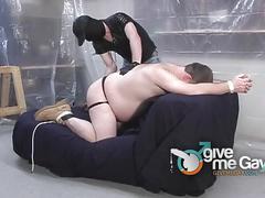 Kinky master dominates pig slave