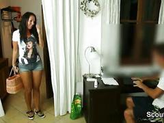 German teen get hardcore fucked by husband of her girlfriend