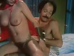 Sh retro pornstar desiree cousteau takes cum on her ass