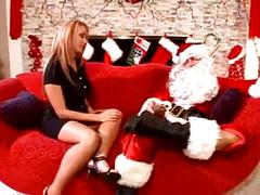 Mrs claus gangbanged by elves