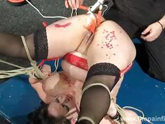 Andreas mature hot waxing nightmare and amateur pussy tortures of bbw slaveslut