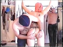 2 old men training young slave girl part 1.vob