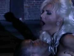 Beautiful blonde dp gangbang, kinky hard sex for dutch german helen duval
