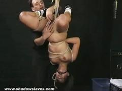 Teen tigerrs suspension bondage and water torture breathplay of asian slave girl