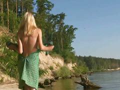 Sveta - on the beach