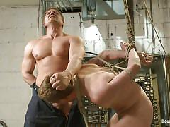 bdsm, domination, blowjob, gays, tied up, ropes, tied cock, bound gods, kink men, michael anthony, lief kaase, michael anthony, lief kaase, bound gods, kinky dollars