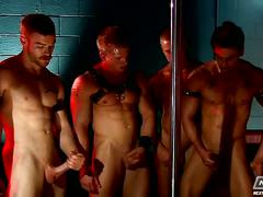 The dungeon club orgy by next door buddies