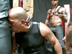 hunks, bdsm & fetish, gangbang, anal, hardcore, group sex, 3 on 1, 4 on 1, assfucking, bondage, muscle man, stud