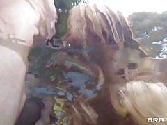 Blonde milf fucked in her big butt