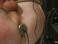 bdsm, domination, gays, tied up, leather pants, anal plug, ropes, licking feet, electrodes, electricity, bound gods, kink men, adam herst, cole brooks, adam herst, cole brooks, bound gods, kinky dollars