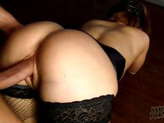 Big ass wifey drilled hard in her cunt