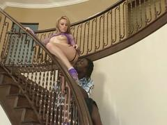 Holly wellin anal by big black shaft
