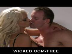 Hot blonde milf stormy daniels hard pussy pounding