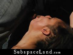 Horny master sexually tortures kinky babe allodia.