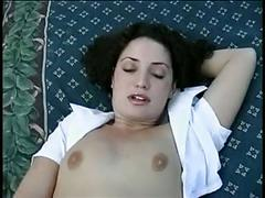 facials, brunettes, pov, hairy, tits
